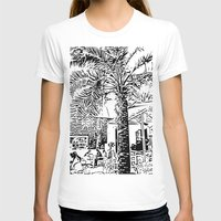 palm tree T-shirts featuring Palm tree by ArteGo