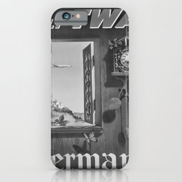 retro classic Germany poster iPhone Case