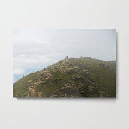 Ridge Metal Print