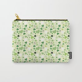 St Pat's Shamrocks Carry-All Pouch