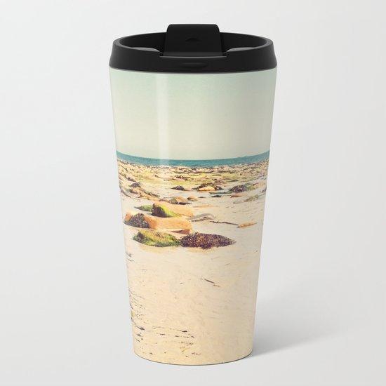 Rocky Beach Metal Travel Mug