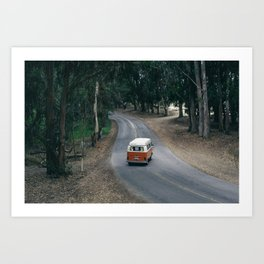 From the Road Art Print