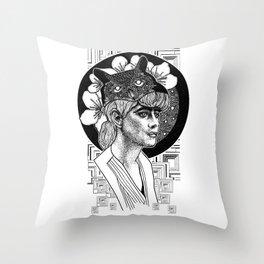 Blade Runner Rachael Throw Pillow