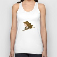 hermione Tank Tops featuring Hermione Granger by Imaginative Ink