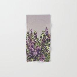 Wild Lilacs Hand & Bath Towel