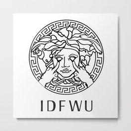 IDFWU Metal Print