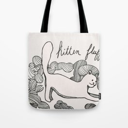 Kitten Fluff Tote Bag