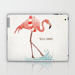 Flamingo - Hello Summer Laptop & iPad Skin