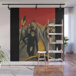 The Cabinet of Dr. Caligari,1920 German Silent Horror Film Wall Mural