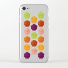 Cutie Fruity (Watercolour) Clear iPhone Case