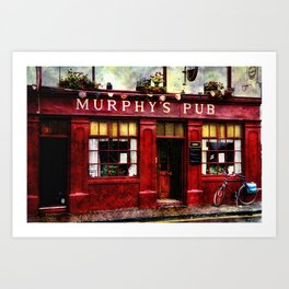Murphys Pub, Dingle Art Print