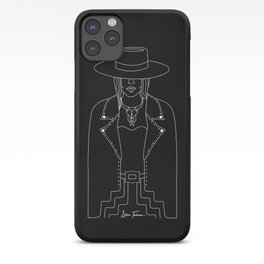 Lady Outlaw iPhone Case