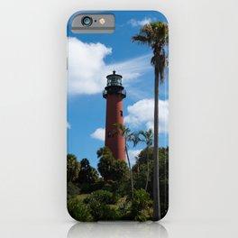 Jupiter Lighthouse Color Tropical / Coastal Landscape Photograph iPhone Case