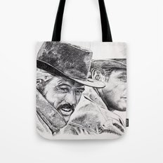 butch cassidy and the sundance kid Tote Bag