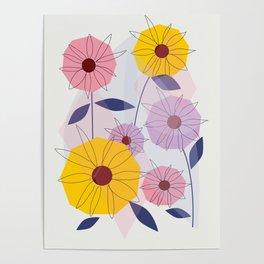 Summer Garden #society6 #decor #buyart Poster