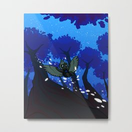 Harp's Twilight Flight Metal Print