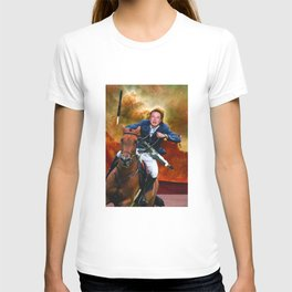 Elon Musk On Mars T-shirt