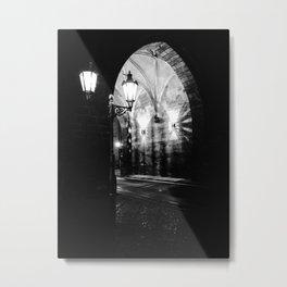 Nocturne Photograph - Prague, 15. Metal Print