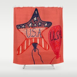 Patriotic Shower Curtain