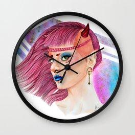Demoniac 80s Wall Clock
