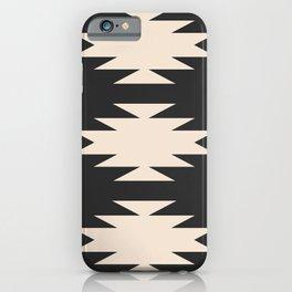 Minimal Southwestern - Charcoal iPhone Case
