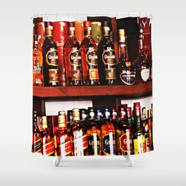 Booze Shower Curtain