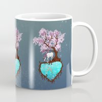 the last unicorn Mugs featuring Last Unicorn by Astrablink7