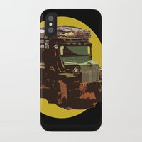 truck iPhone & iPod Cases featuring Truck by Mirko Dessureault