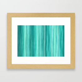 Ambient 5 in Teal Framed Art Print