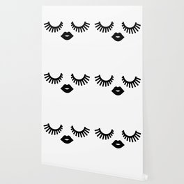 Eyelashes Wallpaper