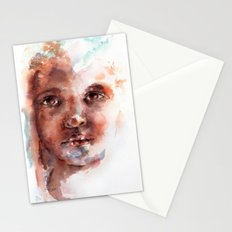 Face of Africa Stationery Cards