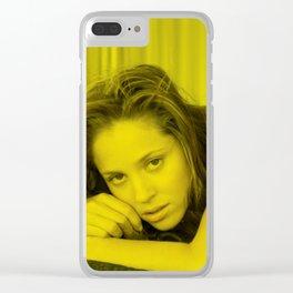Mackenzie Davis - Celebrity (Photographic Art) Clear iPhone Case