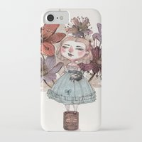 coffe iPhone & iPod Cases featuring Coffe time by flaviasorr