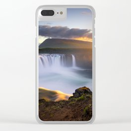 Goðafoss Clear iPhone Case