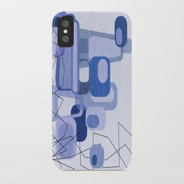 Feeling Blue. iPhone Case