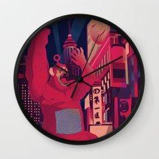 King Po LIVES Wall Clock