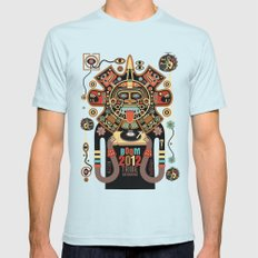 Mayas Spirit - Boom 2012 Mens Fitted Tee X-LARGE Light Blue
