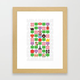 Japan Day Framed Art Print