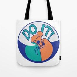 Do It! Orange Tote Bag