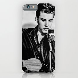 Ricky Nelson Poster, Ricky Nelson Canvas, Print Art Poster, Hip Hop, Wall Art, Home Decor, Gift Poster, Vintage Poster iPhone Case