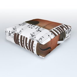 Lost music. Outdoor Floor Cushion