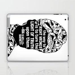 Ida B. Wells-Barnett - Black Lives Matter - Series - Black Voices Laptop & iPad Skin