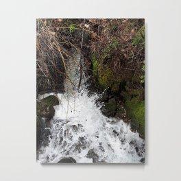 Spring runoff Metal Print