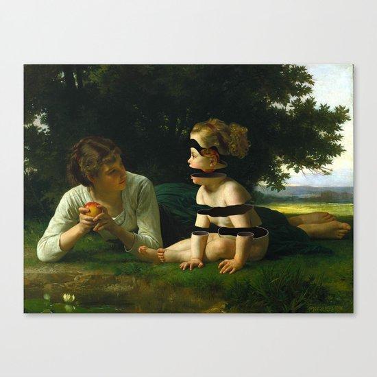 Temptation (revisited) Canvas Print