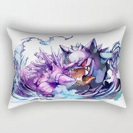 Nidorino vs Gengar Rectangular Pillow