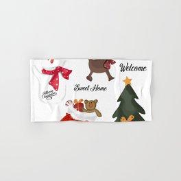 Christmas decoration two Hand & Bath Towel
