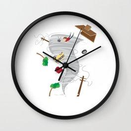 Awesome Tornado & Storm Chasing Wall Clock