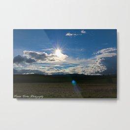 Sun after the storm Metal Print