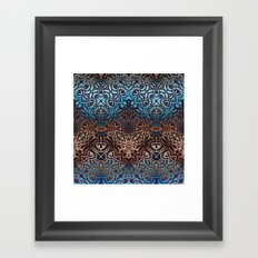 Ethnic Tribal Pattern G329 Framed Art Print