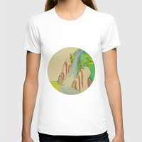 waterfall T-shirts featuring Waterfall by Karly Nakashima